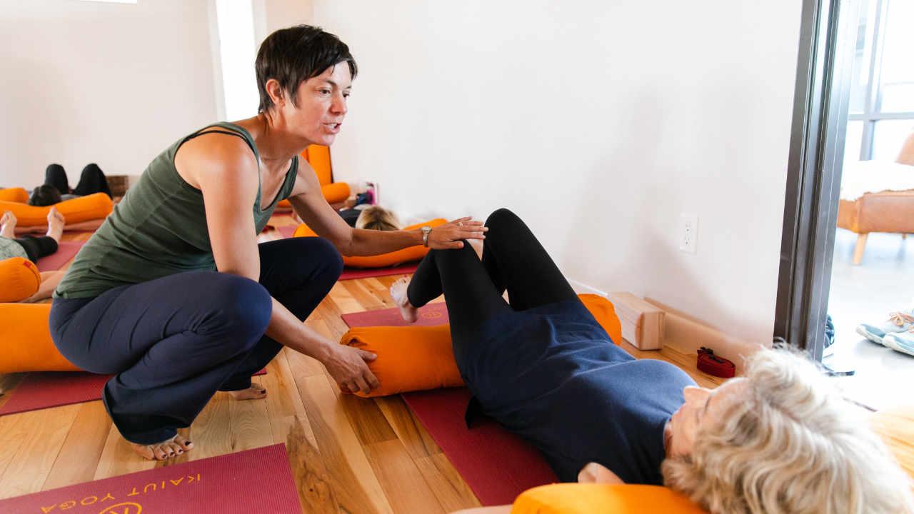 Boulder Yoga class - Home