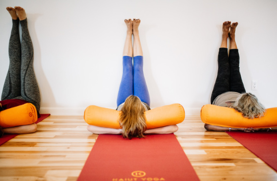 legs up - The Kaiut Yoga Boulder Difference
